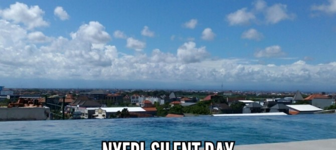 24 hours of silence for 4.22 million people on Nyepi day
