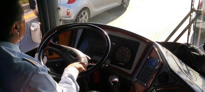 Am condus un autocar spre Bogotá